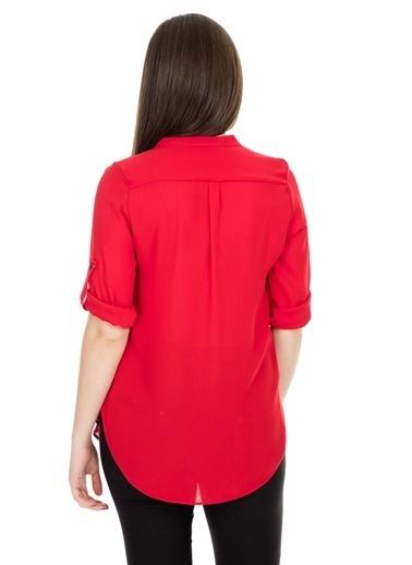 Lela Gömlek Kırmızı